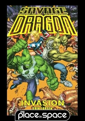 Savage Dragon Invasion  - Softcover