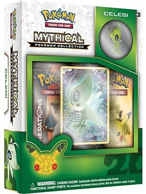 Pokemon TCG Generations :: Mythical Pokemon Collection - Celebi :: Sealed Box!
