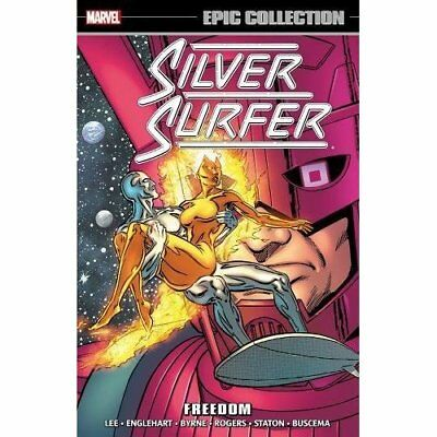 Silver Surfer Epic Collection: Freedom (Epic Collection - Paperback NEW Stan Lee
