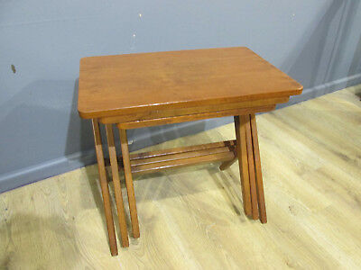 danish nest of tables bengt ruda retro vintage midcentury