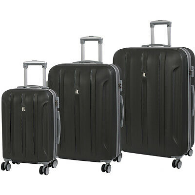 it luggage Proteus 3 Piece Hardside Expandable Spinner Luggage Set NEW