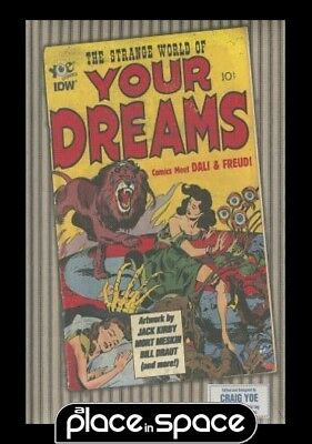 Strange World Of Your Dreams Comics Meet Freud & Dali - Hardcover