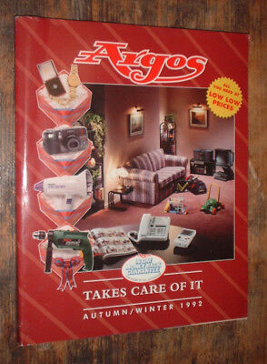 A/W 1992 ARGOS catalogue DESIGN 372 PAGES HOME +  toys ++++++