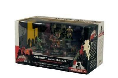 HorrorClix Hellboy and the B.P.R.D. Action Pack Box Fair