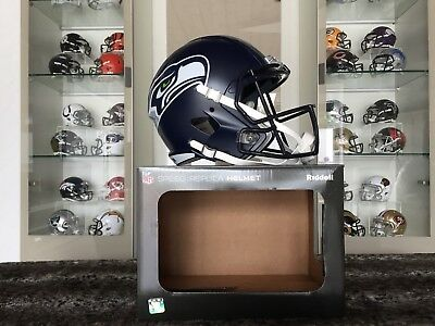 NFL Football Full Size Speed Replica Helm SEATTLE SEAHAWKS Riddell neu & OVP