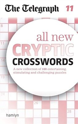 Telegraph All New Cryptic Crosswords 11, The Telegraph Media Grou...