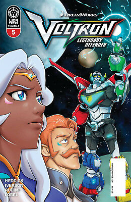 Voltron Legendary Defender Vol 2 #5