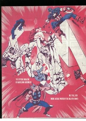 Foom No 7 Fall 1974 Avengers Cover Fanzine