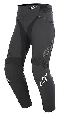 Alpinestars Jagg Mens Black Leather Motorcycle Trousers RRP £279.99!!!