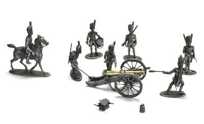 Diorama Great Army of Napoleon Artillery Metal figurine Soldier 1/32 Atlas MHSP