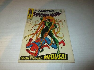 Amazing Spider-Man #62 Medusa Higher Grade