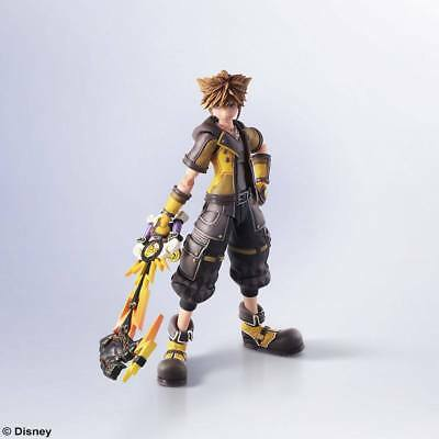 Kingdom Hearts III Bring Arts Actionfigur Sora Guardian Form Version 16 cm NEU