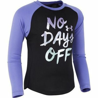 Under Armour Girl's No Days Off Shirt Asst Sizes New With Tags