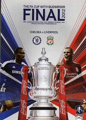 Chelsea  V  Liverpool 2012 Fa Cup Final Programme
