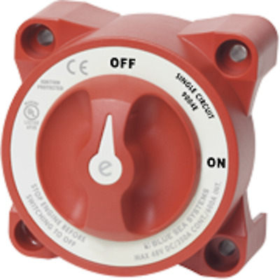 Marine Boat Battery Switch 2 Position Off -ON with AFD  Blue Sea 9004E
