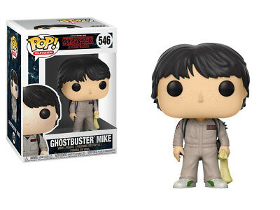 Stranger Things 2nd Season Mike Ghostbusters POP! Figure Toy #546 FUNKO NEW MIB