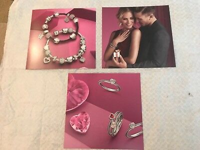 Authentic Pandora Jewelry Spring or Summer In Store Display posters