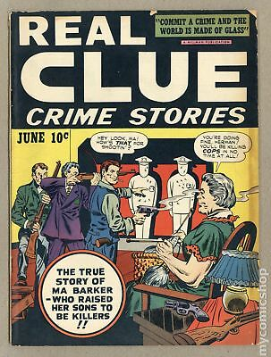 Real Clue Crime Stories Vol. 2 #4 1947 VG 4.0