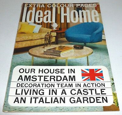 Ideal Home VINTAGE RETRO MAGAZINE May 1965