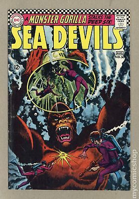 Sea Devils #30 1966 GD/VG 3.0