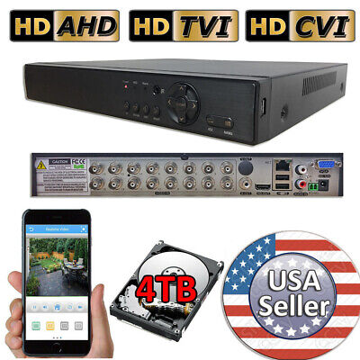 Sikker Standalone 16 Ch Channel H.264 960H HD 720P 1080N CCTV DVR Camera System
