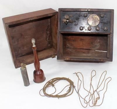 Antique 1800's Dr. Jerome Kidder Elecrto Therapy Medical Quackery Machine