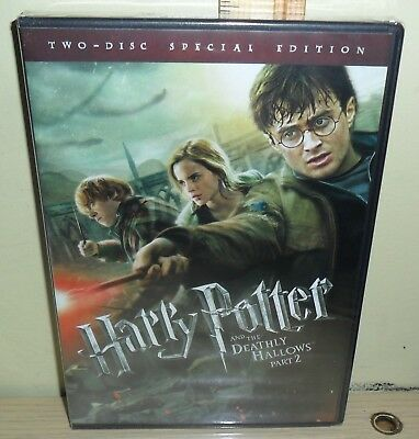 New: Harry Potter and the Deathly Hallows: Part II (DVD, 2-Disc Set) Widescreen