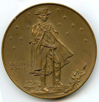 1978 National Medal Valley Forge 200th Anniversary American Flag - US Mint AP53