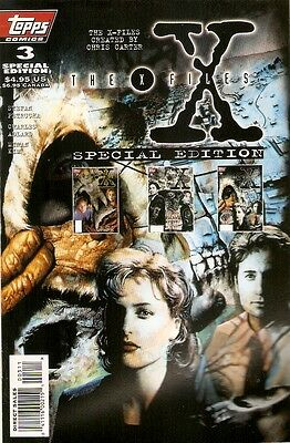 X-Files Akte X Comic USA Topps Special Edition 3