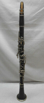 Vintage NIKKAN CLARINET WOODWIND ORCHESTRA Instrument in case Japanese #10