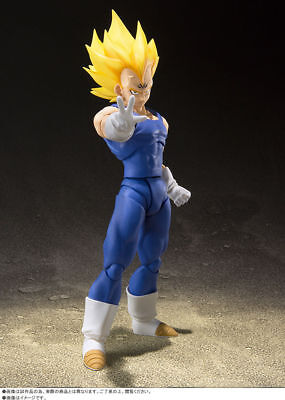 Japan Bandai Dragon Ball Z Super S.H.Figuarts Action Figure SS Majin Vegeta