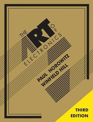 The Art of Electronics (Hardcover), Horowitz, Paul, Hill, Winfield, 97805218092.
