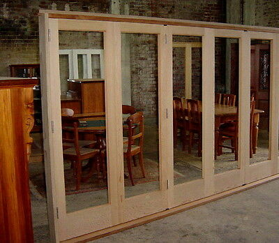 Bi fold Door BIFOLD SET  ... HARDWOOD TIMBER  NEW  !! ( can deliver )