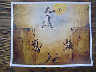 "Indiana Jones and the Last Crusade - Leap of Faith 8.5"" x 10-3/4"" Poster Print"
