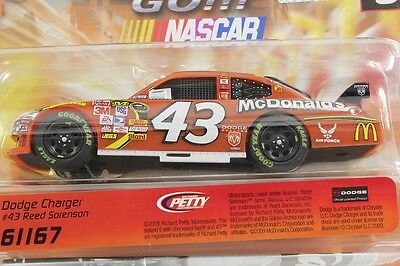 Carrera Go 61167 Nascar Reed Sorenson Dodge Charger New 1/43 Slot Car In Display