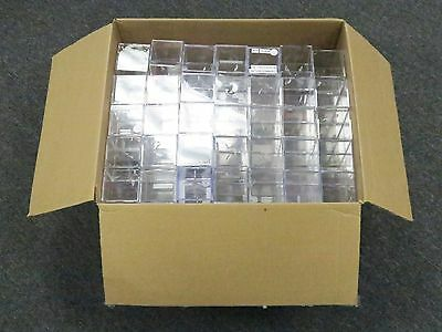 Lot of (144) EMPTY Baseball Cube Display Case Holders ( Used ) ...144 total