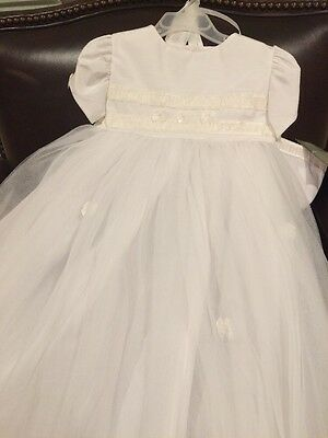 Allie Wade Girls Christening Gown 24 Mos.