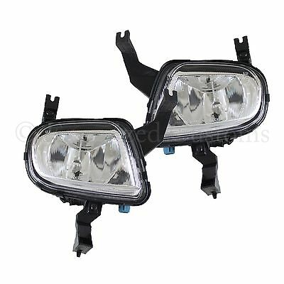 Peugeot 306 1997-1999 Front Fog Light Lamps 1 Pair O/s & N/s