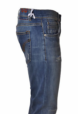 0943204662 DONDUP PANTALONI JEANS Uomo In Cotone Up092 Ds107U Lucky Blu 30 Uk ...