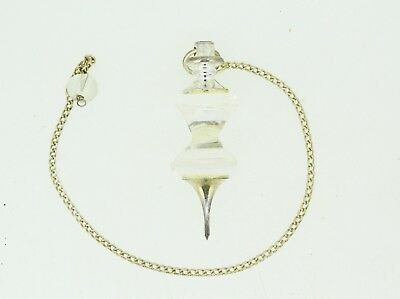 Attractive Crystal Two Piece Pyramid Pendulum  Sp041