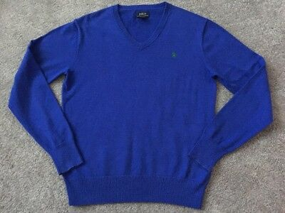 Polo Ralph Lauren Boys Designer Knitted Jumper Excellent Condition Age 14-16 Yrs