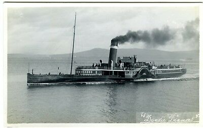 Clyde Paddle Steamer Dandy Dinmont Robertson Postcard