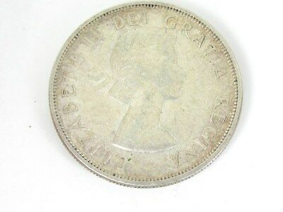 Collectible 1959 Canada One Dollar $1 Silver Coin