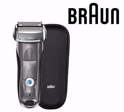 New Braun Series 7 7893s Wet & Dry Electric Shaver for Men w Travel Case