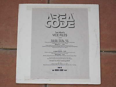 Tee Alford - Vice Files - Area Code Records Ac-102 White Label