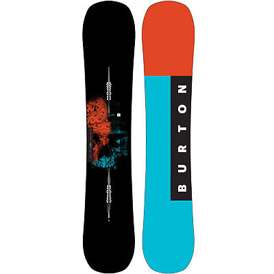 Burton INSTIGATOR Men's Snowboard All Terrain Freestyle Freeride Flat Top 2018
