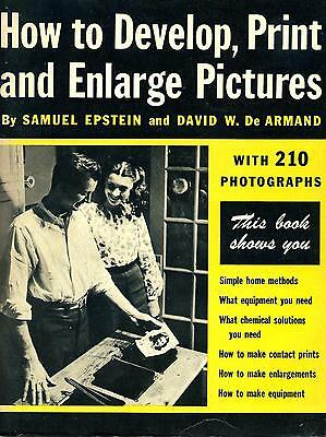 How to Develop Print and Enlarge Pictures by Epstein 1947