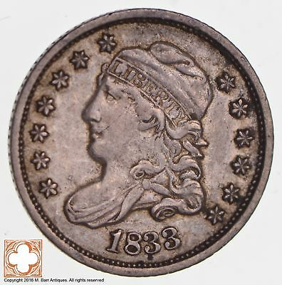 1833 Capped Bust Half Dime *2708