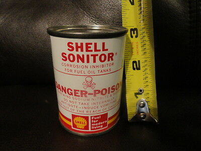 SHELL SONITOR  Corrosion Inhibitor for Fuel Oil Tanks CAN - Original - NOS