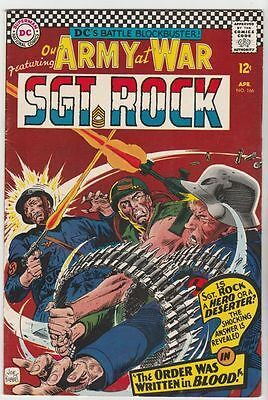 Our Army at War #166 Sgt Rock strict FN/VF+ 7.5 High-Grade  Appearance - Easy Co